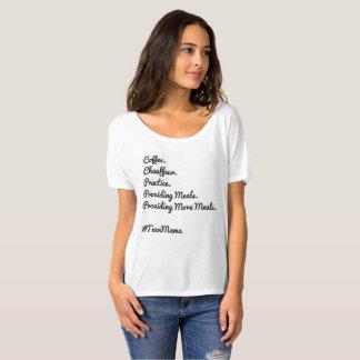 Mamã do t-shirt dos adolescentes