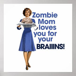 Mamã do zombi pôster