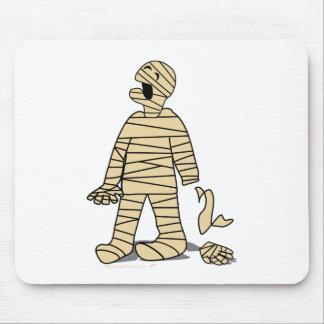Mamã engraçada mão quebrada o Dia das Bruxas Mouse Pad