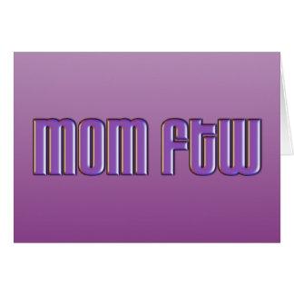Mamã FTW Cartão