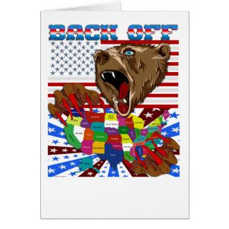 Mama-Grizzly-Set-1 Cartão Comemorativo