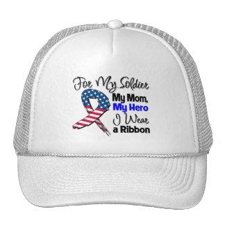Mamã - meu soldado, minha fita patriótica do herói bones