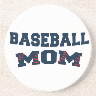 Mamã na moda do basebol porta copos de arenito
