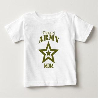Mamã orgulhosa do exército t-shirt