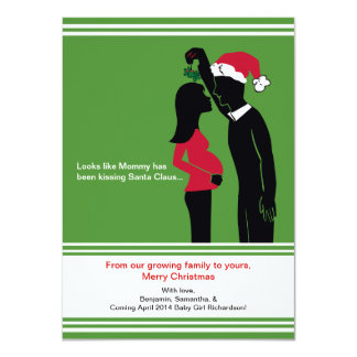 mamães dos cartões dos anúncios da gravidez do convite 11.30 x 15.87cm