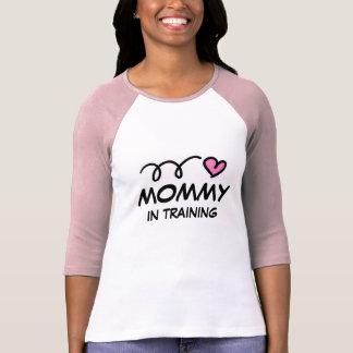 Mamães em treinar a camisa de t