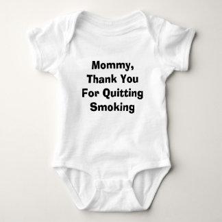 Mamães, obrigado parando o fumo tshirt