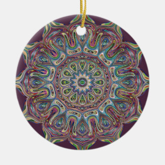 Mandala cerâmica do ornamento do círculo
