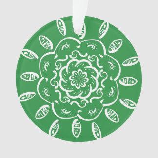 Mandala da alga ornamento