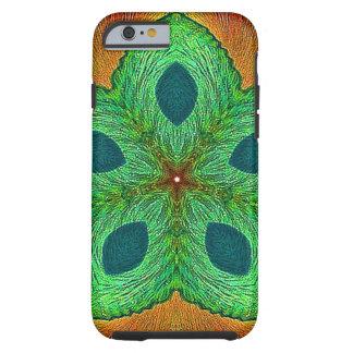 Mandala da semente de cristal capa tough para iPhone 6