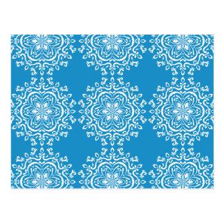 Mandala do Bluebird Cartão Postal