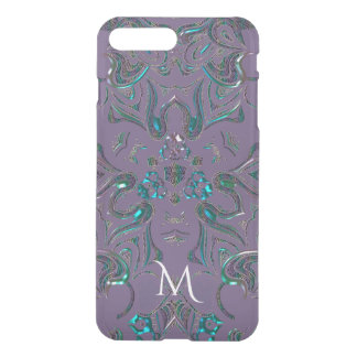 Mandala Jeweled original do olhar do monograma Capa iPhone 7 Plus