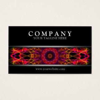 Mandala moderna cartão de visitas