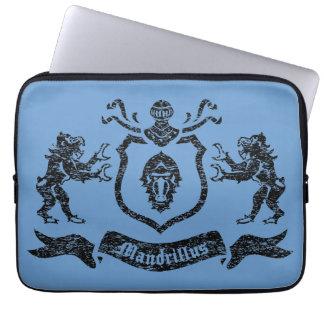 Mandrills heráldico - a bolsa de laptop bolsas e capas de notebook