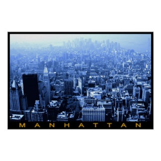 Manhattan, New York Posters