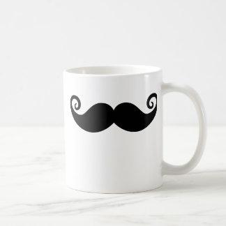 Mania do bigode caneca de café