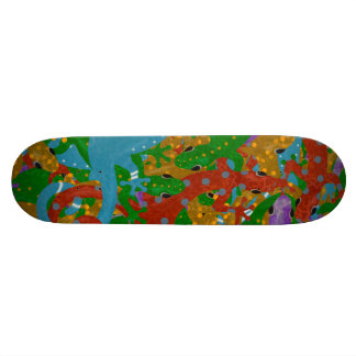 Mania do geco shape de skate 20,6cm
