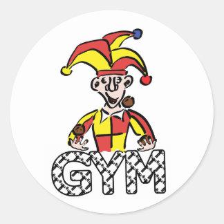 Manipule o Gym Adesivo