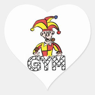 Manipule o Gym Adesivo Coração