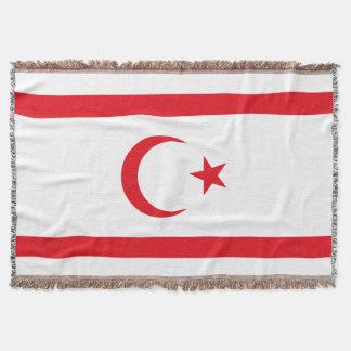 Manta Bandeira do norte de Chipre