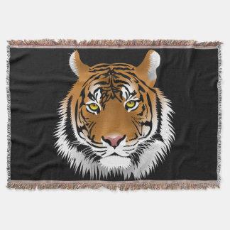 Manta Cobertura feita sob encomenda do lance do tigre