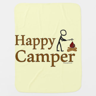 Manta De Bebe Campista feliz