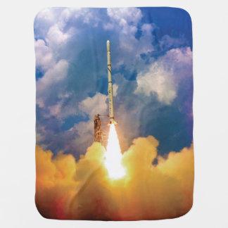 Manta De Bebe Liftoff do lançamento de Rocket do escuteiro da