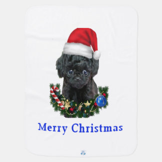 Manta De Bebe Natal do Doggy