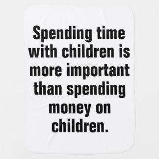 Manta De Bebe Passar o tempo com crianças é mais importante