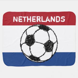 Manta Para Bebe A bandeira do futebol holandês de  
