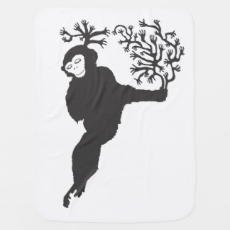 Manta Para Bebe amor do macaco