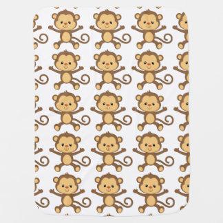 Manta Para Bebe Cobertura do bebê do macaco