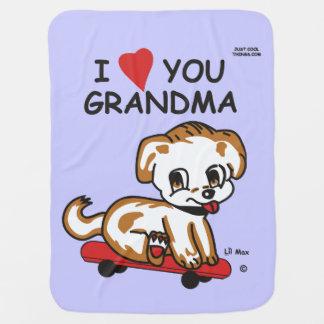 Manta Para Bebe Cobertura máxima da avó de Lil eu te amo