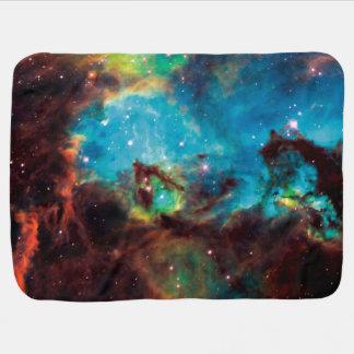 Manta Para Bebe Foto 2074 do espaço da nebulosa do Tarantula do