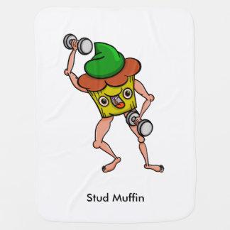 Manta Para Bebe Muffin do parafuso prisioneiro que levanta com