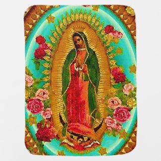 Manta Para Bebe Nossa Virgem Maria mexicana do santo da senhora