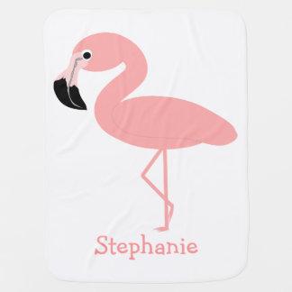 Manta Para Bebe O flamingo apenas adiciona o nome