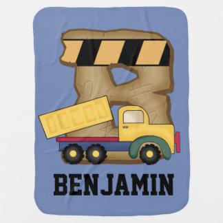Manta Para Bebe Os presentes personalizados de Benjamin