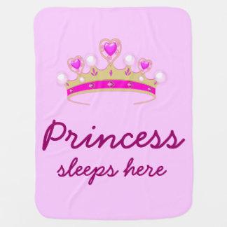 Manta Para Bebe Princesa pequena