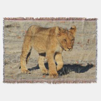 Manta Passeio do filhote de leão