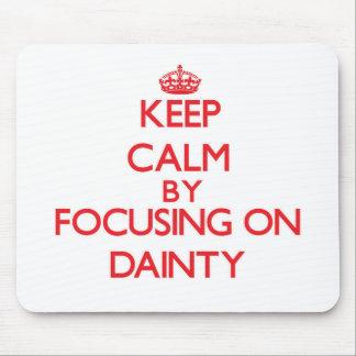 Mantenha a calma centrando-se sobre a guloseima