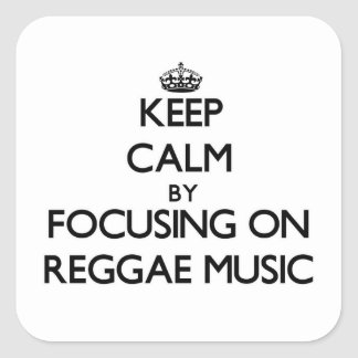 Mantenha a calma centrando-se sobre a música da re