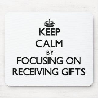 Mantenha a calma centrando-se sobre a recepção de