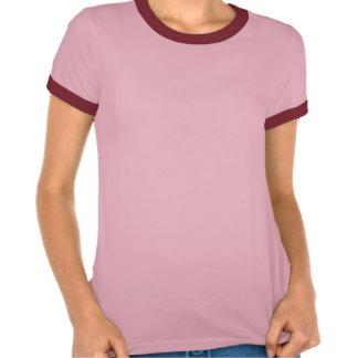 Mantenha a calma centrando-se sobre a camisetas