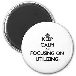 Mantenha a calma centrando-se sobre a utilização