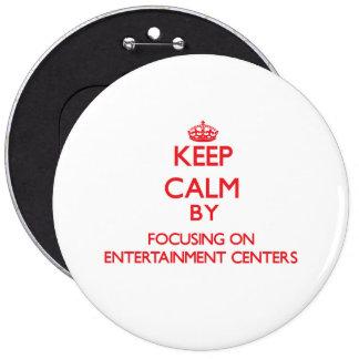 Mantenha a calma centrando-se sobre CENTROS de Botons