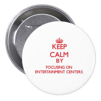 Mantenha a calma centrando-se sobre CENTROS de Boton