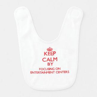 Mantenha a calma centrando-se sobre CENTROS de Babadores Para Bebes