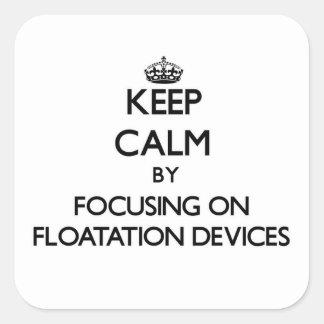 Mantenha a calma centrando-se sobre dispositivos d