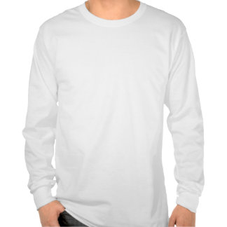 Mantenha a calma centrando-se sobre Drapes Camisetas